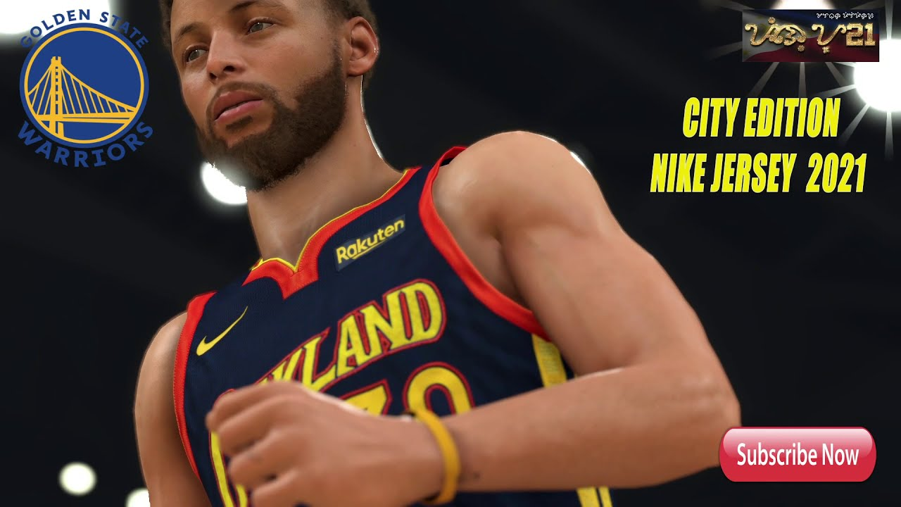 Nba2k21 Pc Golden State Warriors City Edition Nike Jersey 2021 Youtube