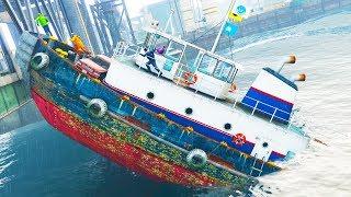 Wir GLITCHEN ein Boot in GTA ONLINE kaputt!