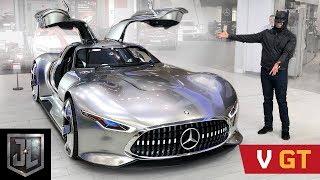 Batman's Mercedes VISION GT!! As Seen in Justice League!