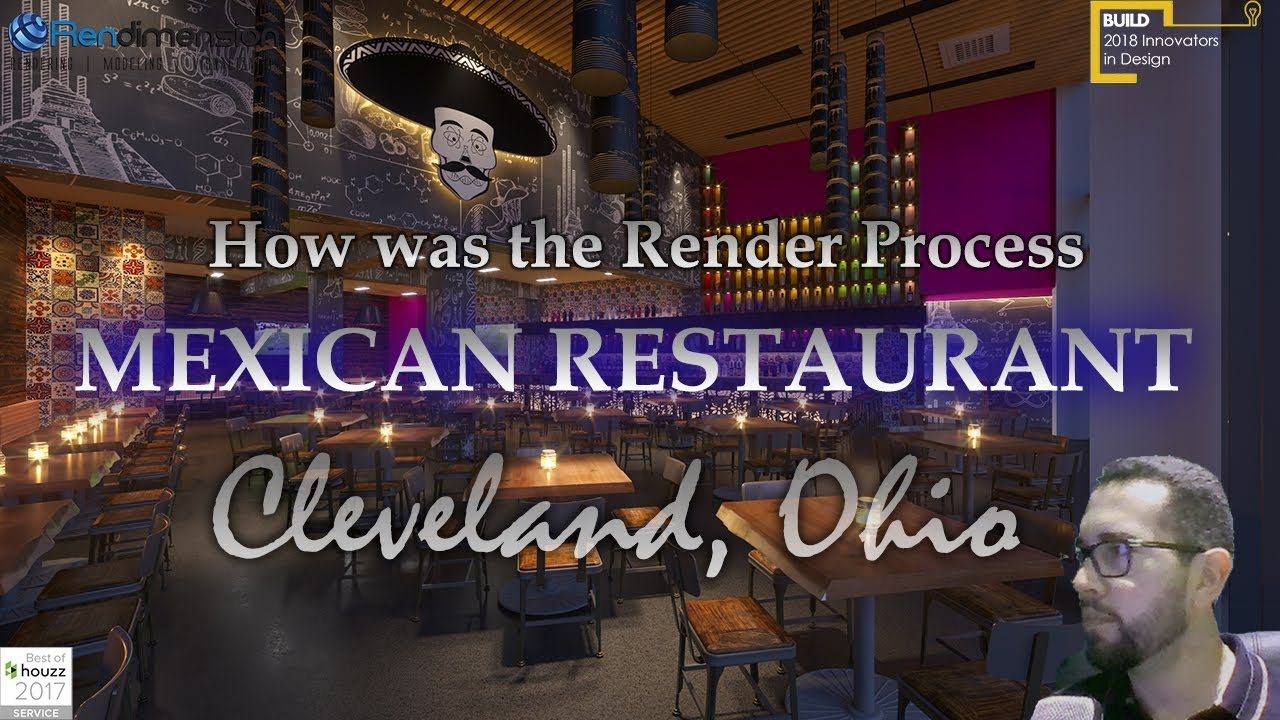 ✅ 3D Rendering Services Cleveland  - Restaurant - Architectural Renderings Real Estate Cleveland ✅