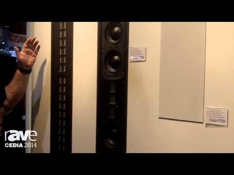 CEDIA 2014: Wisdom Audio Showcases Sage Series In-Wall Speaker