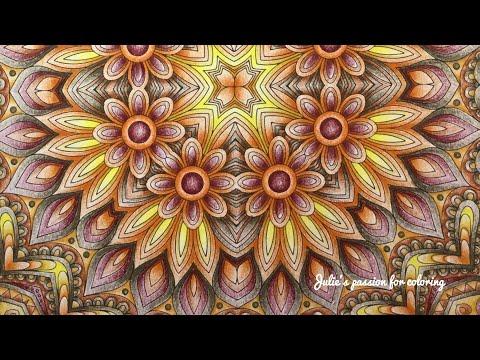 COLOR LIKE CRAZY - Kaleidoscope mandala designs - volume 1 - prismacolor pencils
