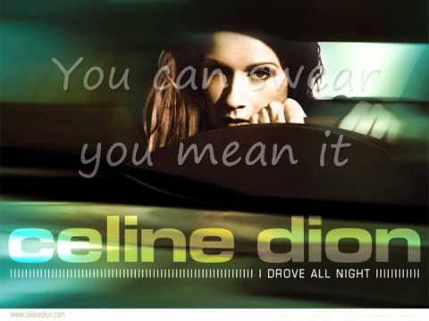 Celine Dion - In His Touch (Lyrics)