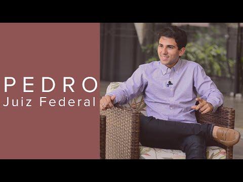 Pedro, o Juiz Federal mais novo do Brasil