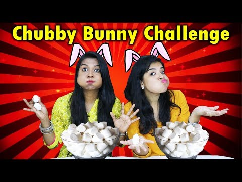 Chubby Bunny Challenge | Hungry Birds Marshmallow Challenge