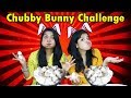 Chubby Bunny Challenge | Hungry Birds Marshmallow Challenge