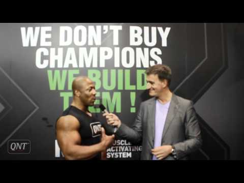Interview with Shawn Rhoden at Body Fitness Form'expo - Paris 2012