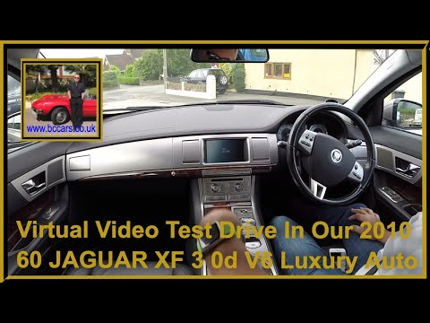 Virtual Video Test Drive In Our 2010 60 JAGUAR XF 3 0d V6 Luxury Auto
