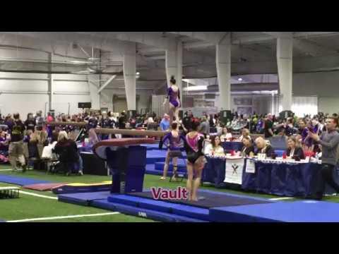 Nikki Beckwith Class of 2021 College Recruiting Video - Buckeye Gymnastics