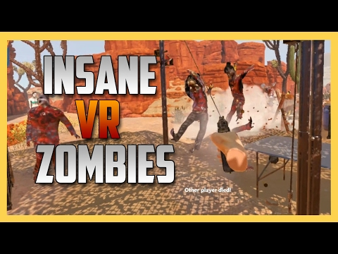 Insane VR Zombie Co-op in Arizona Sunshine - Intense AF!
