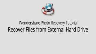 How to Recover Photos from External Hard Drive?