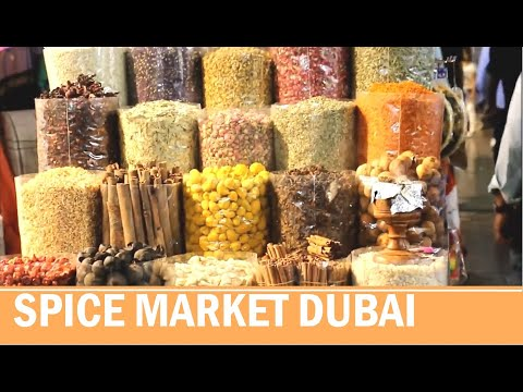 Old Dubai – Dubai spice market