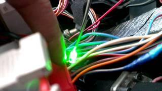 Подключение к тахометру ТZ-9030.