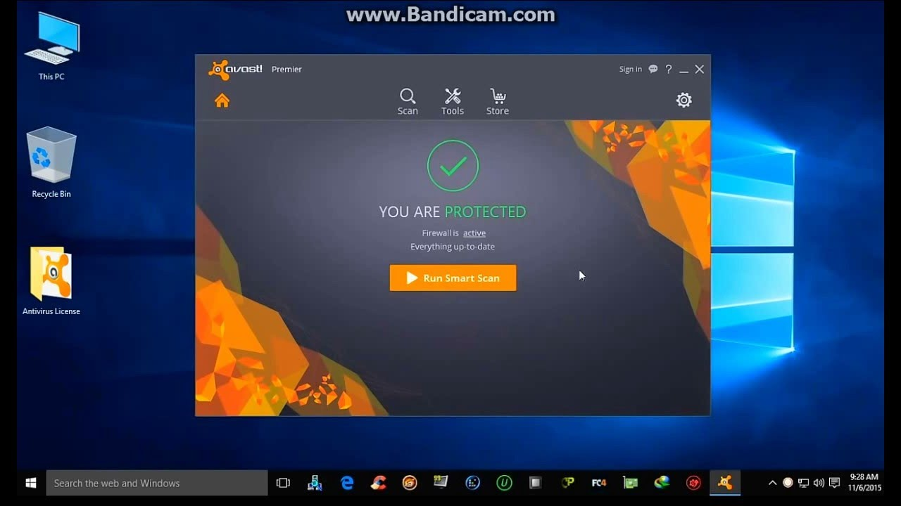 avast premier 2016 license key crack - YouTube