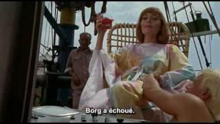 MODESTY BLAISE (Joseph LOSEY, 1966) Dirk BOGARDE, Clive REVILL & Rossella FALK