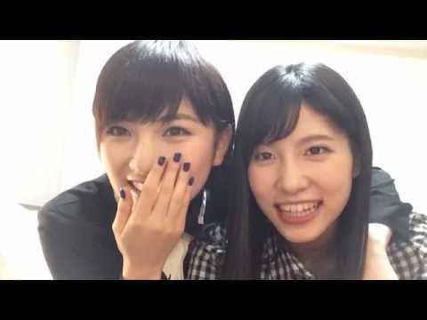 161015 Showroom - Okada Nana with Taniguchi Megu