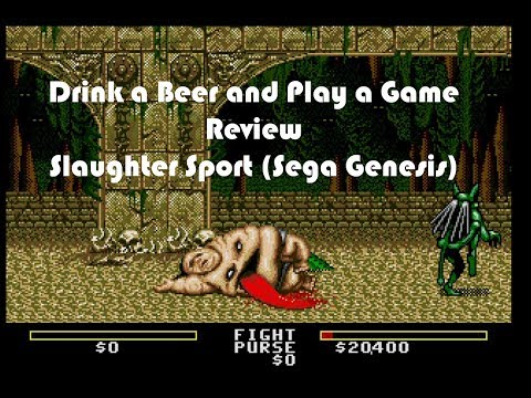 drink-a-beer-and-play-a-game-review---slaughter-sport-(sega-genesis)
