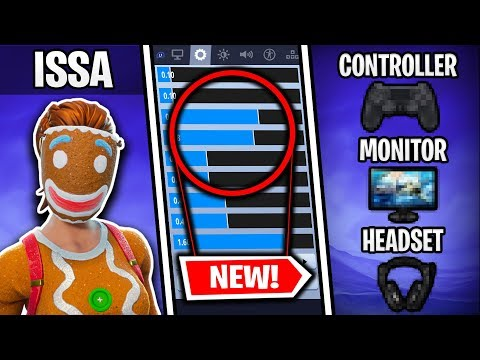 Ghost ISSA's *NEW* Fortnite Settings (UPDATED X&Y SENS)