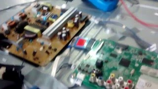TV LG 42 Led 3D não liga modelo 42LB6200