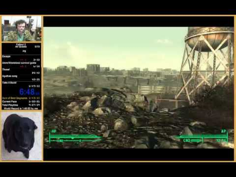 Fallout 3 All Quests Run In 1:43:19