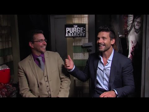 Frank Grillo And James DeMonaco Interview - The Purge: Anarchy (2014) HD