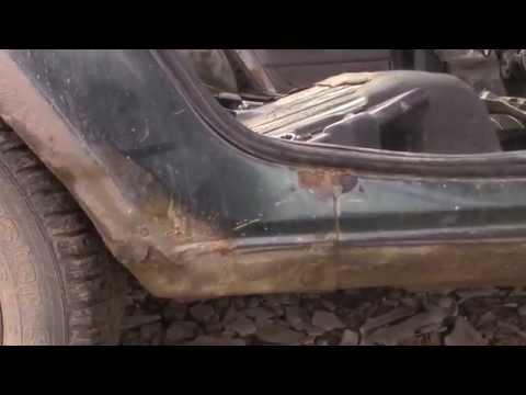 [S.A.A.G] Как гниет ВАЗ 2112 (Замена задних арок и ремонт лонжерона)