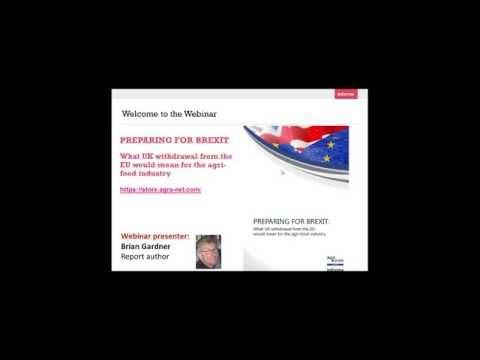 Webinar - Preparing for Brexit