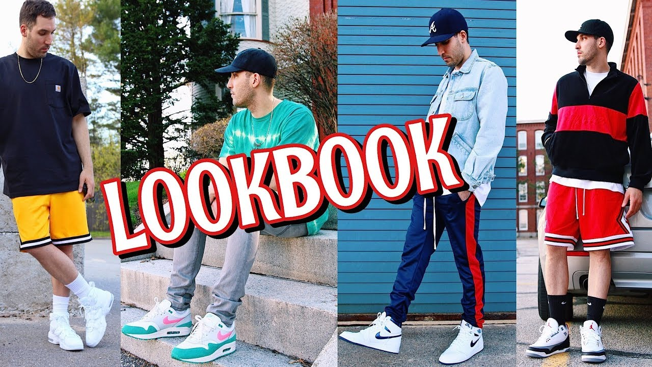 SPRING & SUMMER LOOKBOOK - MEN'S FASHION OUTFITS - NIKE - SUPREME - VANS - JORDAN - MITCHELL & NESS 1