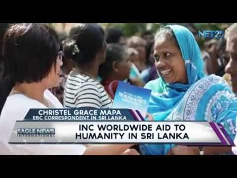 INC Worldwide Aid to Humanity in Sri Lanka
