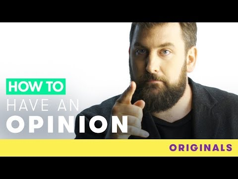 How to Have an Opinion | Comic Relief Originals