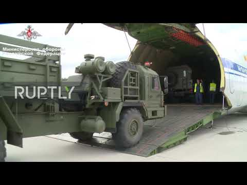 Russia: Russian S-400 air defence shipment loaded and delivered to Turkey