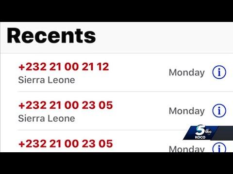 Oklahoma woman warns of '232' area code phone scam