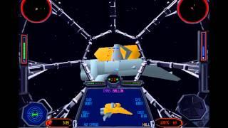Star Wars Gaming: Tie Fighter Playthrough - Battle 1, Mission 3