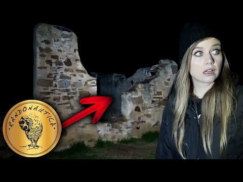 Randonautica GHOST HUNT At Night   1850s House Ruins