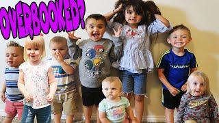 Babysitting NIGHTMARE Bria OVERBOOKS!