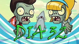Plants vs Zombies 2, [Playa de la Gran Ola, dia 32] - [Big Wave Beach, day 32]