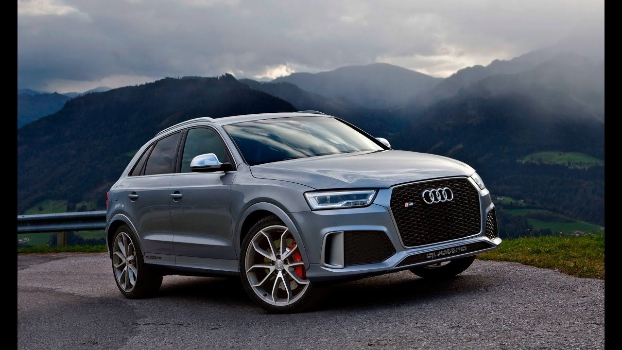 Audi Q3 2017 >> 2017 Audi RSQ3 340hp - In the Alps (launch control, driving, exterior, interior etc) - YouTube