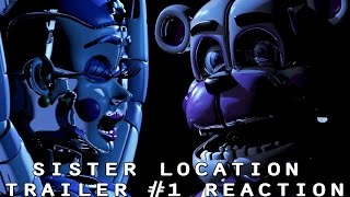 Baixar - The Animatronics React To Sister Location Trailer 1 Grátis