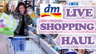 DM LIVE SHOPPING HAUL - viel zu viel eingekauft!! Saskias Beauty Blog