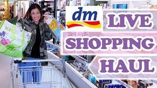 DM LIVE SHOPPING HAUL - viel zu viel eingekauft!! Saskias Beauty Blog