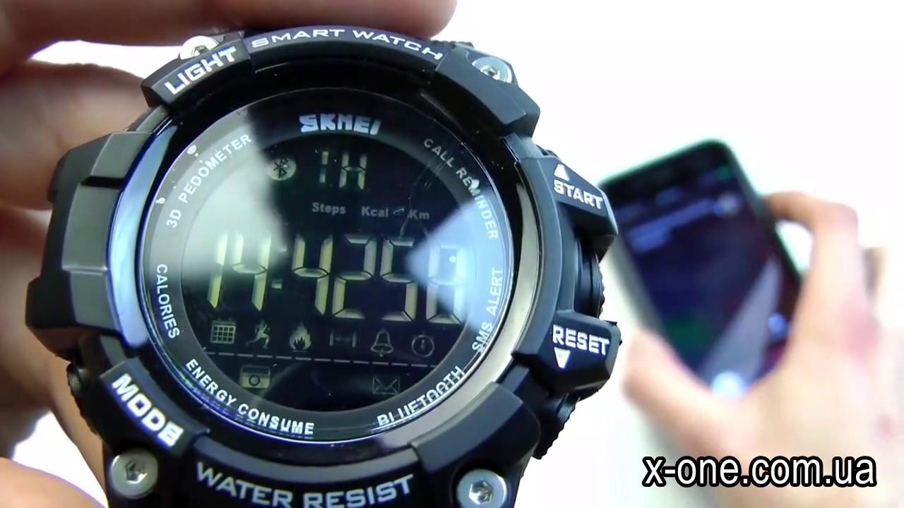 Skmei часы smart watch 1227 часть 2