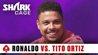 Ronaldo Tries to Bluff Tito Ortiz | The PokerStars Shark Cage