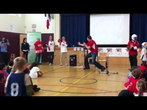 Esteem Team Elgin St Public School Sports Day in Canada