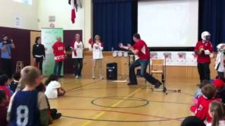 Esteem Team Elgin St Public School Sports Day in Canada