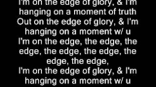 Lady Gaga - The Edge of Glory Lyrics