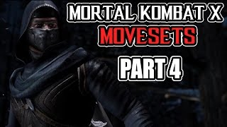 All Mortal Kombat X Movesets P.4 [Takeda, Cassie, Jaqui, Kung Jin]