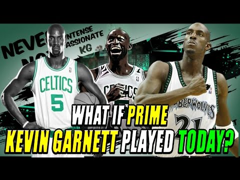What If Prime Kevin Garnett played today? - NBA 2K17 My League
