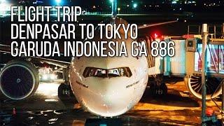 Flight Trip Boeing 777-300ER to Tokyo | Garuda Indonesia