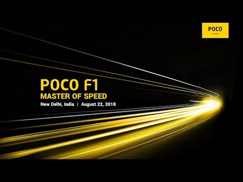 POCO F1 Global launch