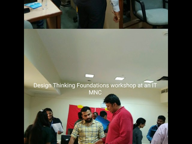 Design Thinking Foundations workshop glimpse